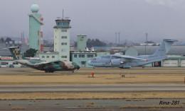 RINA-281さんが、小松空港で撮影した航空自衛隊 C-2の航空フォト(飛行機 写真・画像)