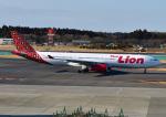 じーく。さんが、成田国際空港で撮影したタイ・ライオン・エア A330-343Xの航空フォト(写真)