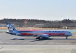 じーく。さんが、成田国際空港で撮影したエティハド航空 787-9の航空フォト(飛行機 写真・画像)