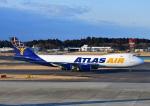 じーく。さんが、成田国際空港で撮影したアトラス航空 747-87UF/SCDの航空フォト(飛行機 写真・画像)