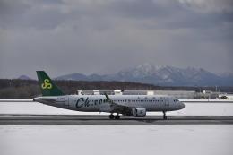 シャークレットさんが、新千歳空港で撮影した春秋航空 A320-214の航空フォト(飛行機 写真・画像)