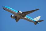 ちゃぽんさんが、成田国際空港で撮影したKLMオランダ航空 777-206/ERの航空フォト(飛行機 写真・画像)