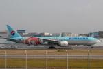 sg-driverさんが、福岡空港で撮影した大韓航空 777-3B5/ERの航空フォト(写真)