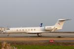 sg-driverさんが、佐賀空港で撮影した金鹿航空 G-V-SP Gulfstream G550の航空フォト(写真)