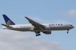 camelliaさんが、成田国際空港で撮影したユナイテッド航空 777-222の航空フォト(写真)