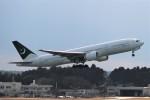 わいどあさんが、成田国際空港で撮影したパキスタン国際航空 777-2Q8/ERの航空フォト(写真)