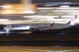 多摩川崎2Kさんが、羽田空港で撮影したカタール航空 A350-1041の航空フォト(飛行機 写真・画像)