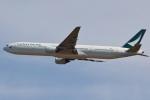 camelliaさんが、成田国際空港で撮影したキャセイパシフィック航空 777-31Hの航空フォト(写真)