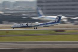デウスーラ294さんが、伊丹空港で撮影した全日空 DHC-8 Dash 8の航空フォト(飛行機 写真・画像)