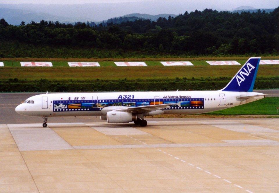 marariaさんの全日空 Airbus A321 (JA101A) 航空フォト