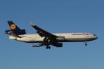 mogusaenさんが、成田国際空港で撮影したルフトハンザ・カーゴ MD-11Fの航空フォト(写真)