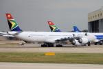 yabyanさんが、ロンドン・ヒースロー空港で撮影した南アフリカ航空 A340-642の航空フォト(写真)