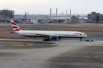 ハム太郎。さんが、羽田空港で撮影したブリティッシュ・エアウェイズ 777-336/ERの航空フォト(写真)
