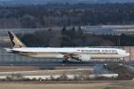 camelliaさんが、成田国際空港で撮影したシンガポール航空 777-312/ERの航空フォト(写真)