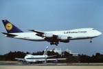 tassさんが、成田国際空港で撮影したルフトハンザドイツ航空 747-230F/SCDの航空フォト(写真)