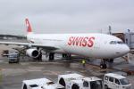 panchiさんが、成田国際空港で撮影したスイスインターナショナルエアラインズ A340-313Xの航空フォト(飛行機 写真・画像)