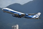 こじゆきさんが、香港国際空港で撮影したエアブリッジ・カーゴ・エアラインズ 747-8HVF(SCD)の航空フォト(写真)