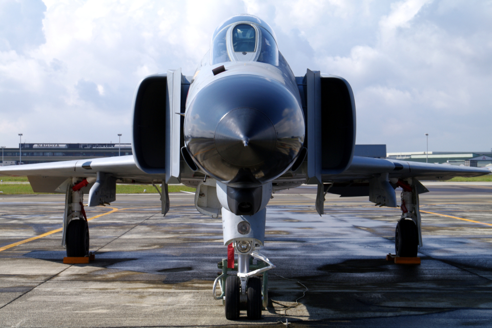 yabyanさんの航空自衛隊 Mitsubishi F-4EJ Phantom II (37-8318) 航空フォト