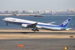 知希(仮)さんが、羽田空港で撮影した全日空 777-381/ERの航空フォト(写真)