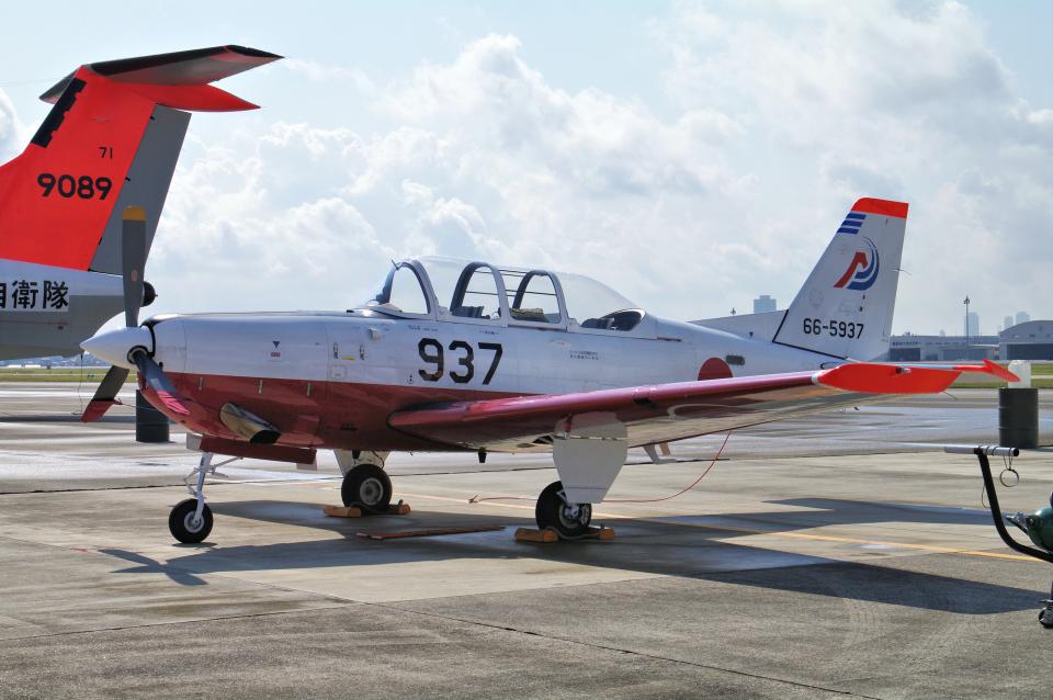yabyanさんの航空自衛隊 Fuji T-7 (66-5937) 航空フォト