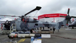 westtowerさんが、ル・ブールジェ空港で撮影したアグスタウェストランド AW159の航空フォト(飛行機 写真・画像)