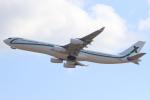キイロイトリさんが、関西国際空港で撮影したエアXチャーター A340-312の航空フォト(写真)
