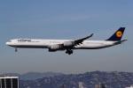 takoyanさんが、ロサンゼルス国際空港で撮影したルフトハンザドイツ航空 A340-642Xの航空フォト(写真)