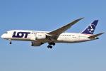 masa707さんが、ロサンゼルス国際空港で撮影したLOTポーランド航空 787-8 Dreamlinerの航空フォト(写真)