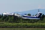 yabyanさんが、秋田空港で撮影したANAウイングス DHC-8-402Q Dash 8の航空フォト(飛行機 写真・画像)