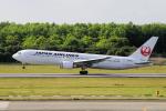 yabyanさんが、熊本空港で撮影した日本航空 767-346/ERの航空フォト(写真)