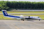 yabyanさんが、熊本空港で撮影したANAウイングス DHC-8-402Q Dash 8の航空フォト(写真)