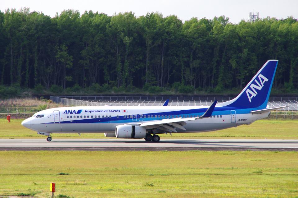yabyanさんの全日空 Boeing 737-800 (JA56AN) 航空フォト