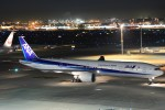 B747‐400さんが、羽田空港で撮影した全日空 777-381/ERの航空フォト(写真)