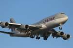 imosaさんが、羽田空港で撮影したカタールアミリフライト 747-8KB BBJの航空フォト(写真)