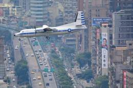 rail_airlineさんが、台北松山空港で撮影した中華民国空軍 50の航空フォト(写真)