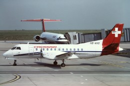 tassさんが、パリ シャルル・ド・ゴール国際空港で撮影したクロスエア SF-340Aの航空フォト(飛行機 写真・画像)