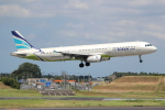 OMAさんが、成田国際空港で撮影したエアプサン A321-231の航空フォト(写真)