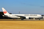 Kuuさんが、鹿児島空港で撮影した日本航空 767-346の航空フォト(写真)
