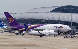 airbandさんが、関西国際空港で撮影したユナイテッド航空 737-724の航空フォト(飛行機 写真・画像)