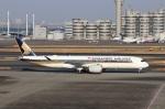 ハム太郎。さんが、羽田空港で撮影したシンガポール航空 A350-941XWBの航空フォト(写真)