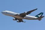 camelliaさんが、成田国際空港で撮影したキャセイパシフィック航空 747-467F/ER/SCDの航空フォト(写真)