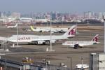 ハム太郎。さんが、羽田空港で撮影したカタールアミリフライト 747-8KB BBJの航空フォト(写真)