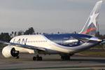 masa707さんが、ロサンゼルス国際空港で撮影したラタム・エアラインズ・チリ 787-8 Dreamlinerの航空フォト(写真)