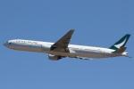 camelliaさんが、成田国際空港で撮影したキャセイパシフィック航空 777-367の航空フォト(写真)