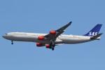 camelliaさんが、成田国際空港で撮影したスカンジナビア航空 A340-313Xの航空フォト(写真)