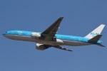 camelliaさんが、成田国際空港で撮影したKLMオランダ航空 777-206/ERの航空フォト(写真)