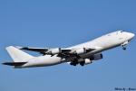 れんしさんが、北九州空港で撮影したウィルミントン・トラスト・カンパニー 747-4KZF/SCDの航空フォト(写真)