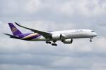 こじゆきさんが、スワンナプーム国際空港で撮影したタイ国際航空 A350-941XWBの航空フォト(写真)