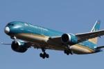 camelliaさんが、成田国際空港で撮影したベトナム航空 787-9の航空フォト(写真)