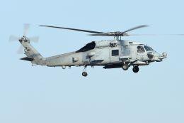 うめやしきさんが、厚木飛行場で撮影したアメリカ海軍 MH-60R Seahawk (S-70B)の航空フォト(写真)